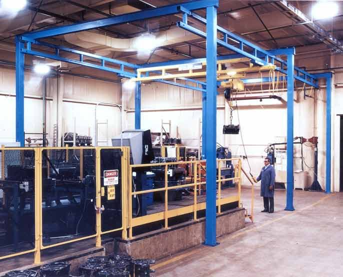 Gorbel Work Station Cranes From Liftandmove Acc